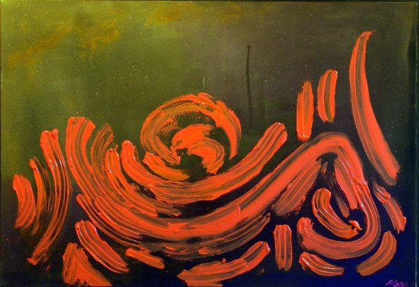 Plear, Scott (RCA) -The Feast of Venus - 48x70 in. acrylic on canvas $10,800