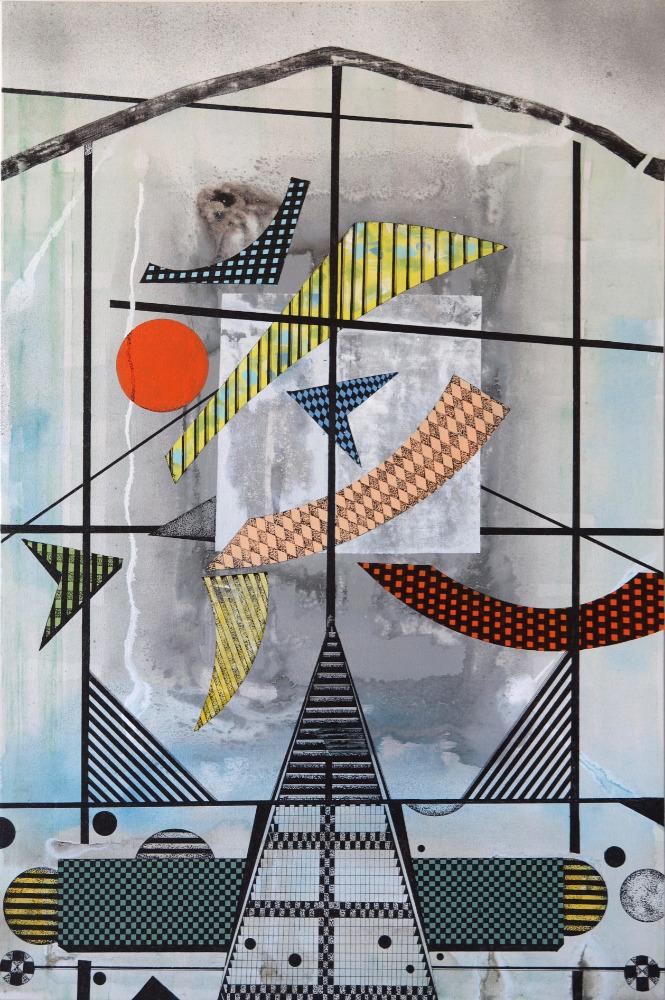 "Jane Adams ""Synergy"" 36x24"