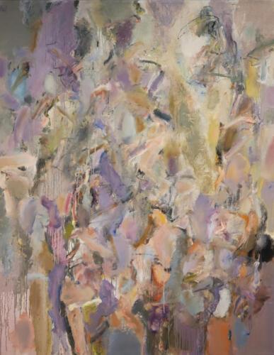 Les Graff Quiet Please 55x44 oil on canvas 5600 2